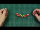 Halloween Origami Pumpkin Jack o Lantern by Alexander Oliveros Avila - Yakomoga Origami tutorial