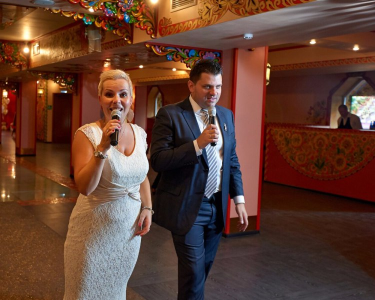 Ведущий тамада на свадьбу в Москве
