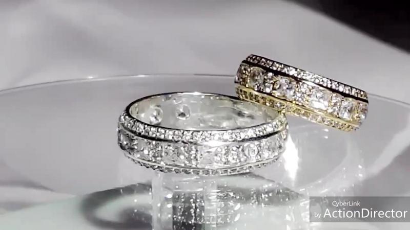 Обручальные кольца выполненные под заказ для брата Рустема и его прекрасной избранницы Асие обручальныекольца помолвочные