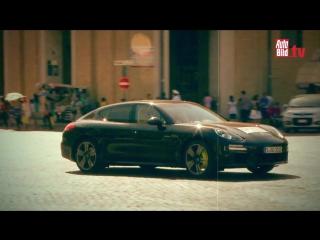 Tesla Model S vs. Porsche Panamera Plug-in Hybrid vs. BMW Active Hybrid 7