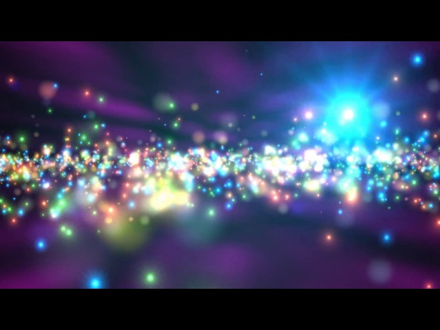 ()10Min. 4K ★ Colorful Fast Sparkles ★ 2160p 60fps Epic Moving Backgrounds AA VFX