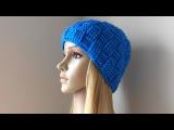 How To Crochet A Basket Weave Hat, Lilu's Handmade Corner Video # 94