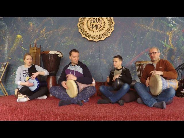 Школа перкуссии Ethno Drum's - БАРАБАННЫЙ ИНТЕНСИВ 2