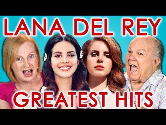 ELDERS READ LANA DEL REY'S HIT SONGS React