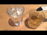 Как определить опасный ли алкоголь (Jack Daniel's) Реакция марганцовки на метиловый спирт.