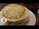 Настоящие Русские Дрожжевые Блины ✧ Russian Yeast Pancakes (English Subtitles)