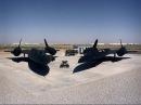 Знаменитый самолет SR 71 Blackbird Черный дрозд