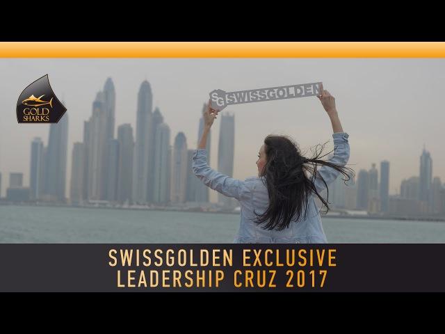 Swissgolden exclusive leadership cruz 2017 Aleksandrina Kirichenko