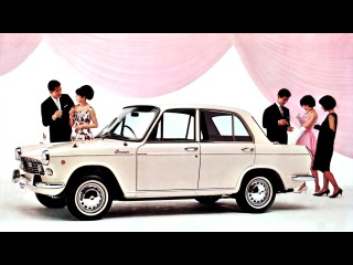 Daihatsu Compagno Berlina 1000 4 door F40 05 1965–05 1967