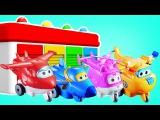 Супер крылья: Джетт и его друзья. Мультики для детей. Мультфильм из игрушек. Изучаем цвета.