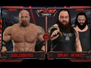 Bray Wyatt vs Goldberg RAW WWE2k17