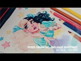 Melanie Martinez - Pacify Her Disney Style - Speed Drawing
