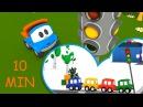 Le storie del semaforo - Leo e le macchinine colorate| Compilation di cartoni per bambini