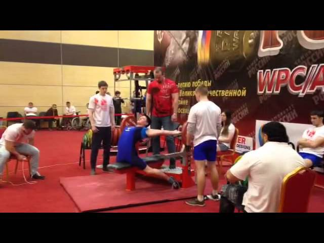 Анжела Кулагина, жим лежа 127,5 кг с. в. 65,9 кг