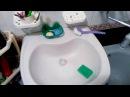 105 как отмыть раковину от ржавчины и налета дешево и еффективно - how to clean the washbasin