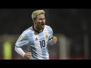 Lionel Messi Amazing Free Kick Goal vs Colombia - World Cup 2018 Qualifiers