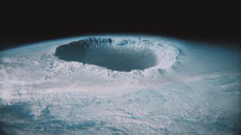 В Антарктиде найден гигантский кратер Вход в подземный мир