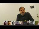 Slavoj Zizek in convesrsation with GCAS Researchers on Google Hangout