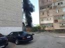 Пожар в Кызылорде 24 .07.2017 второй микрорайон.
