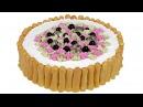 Закусочный торт Дамские пальчики Эффектное оформление для праздничного стола