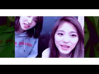 TWICE(트와이스)_ Tzuyu x Mina Singing a Song ''Melting''