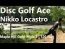 Nikko Locastro Hole In One Disc Golf Ace 320 Feet Over Water at Vibram Open