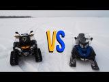 Сравнение снегохода Lynx 69 YETI 900 ACE и Гусениц Apache 360 LT Track System