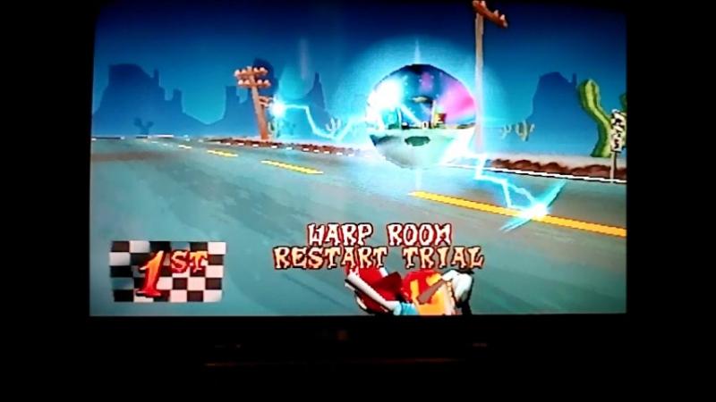 Crash Bandicoot 3:Warped(PAL version).Time Trial.