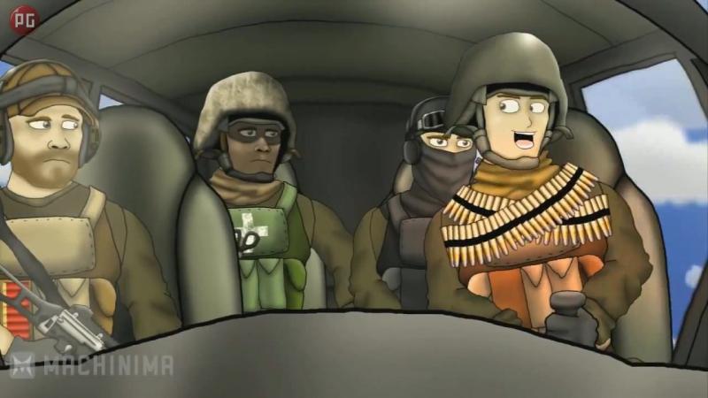Друзья по Battlefield - 1 - Эксперт по вертолётам