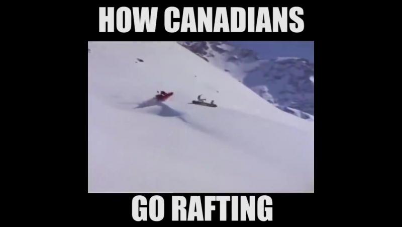 Канадцы спешат на работу после рождественских каникул :)