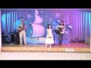 Песня «Белые розы» . Исполняет Антонина Астраханцева, Преподаватель Ирина Васильевна Кудрявцева