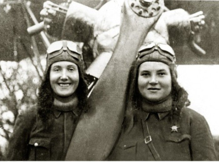 советские летчицы, которых боялись немцы