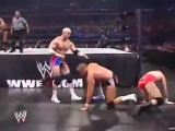WWE Survivor Series 2007 - Lance Cade and Trevor Murdoch vs Hardcore Holly and Cody Rhodes (World Tag Team Championship)