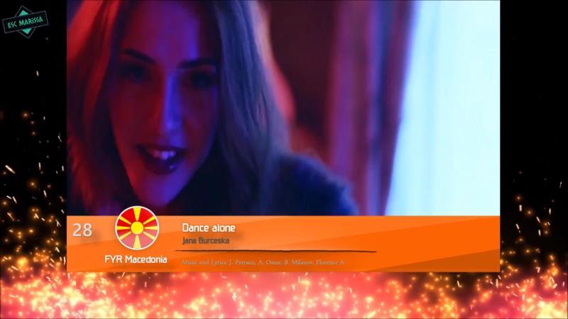 Мой Альтернативный Топ Участников Евровидение Украина (2017) [HD_1080p]