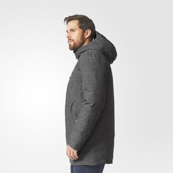 Утепленное пальто Casual