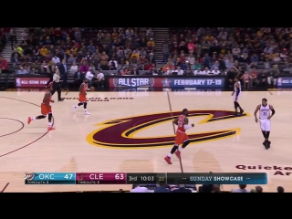 Cleveland Cavaliers - Oklahoma City Thunder on Quicken Loans Arena 28.01.2017
