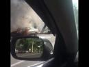 горит авто в таразе