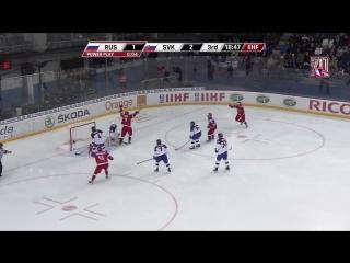 ЮЧМ. Россия - Словакия - 3-2 ОТ. Лучшие моменты матча