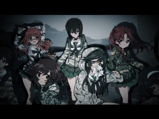 Girls und panzer - The white stripes - Seven nation army - Girl's army AMV