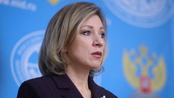 Захарову удивили планы агентства Regnum подать на нее в суд