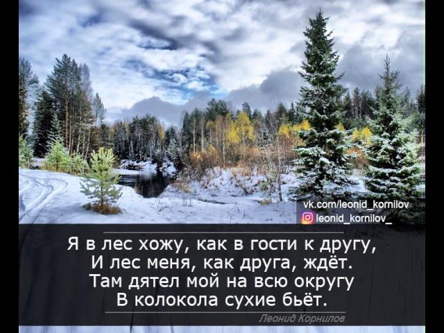 СТАРЫЙ ДРУГ. Леонид Корнилов