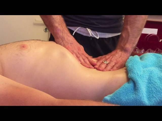 Висцеральный массаж живота.Диагностика внутренних органов живота