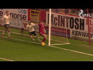 Watch incredible miss from on the goal line!