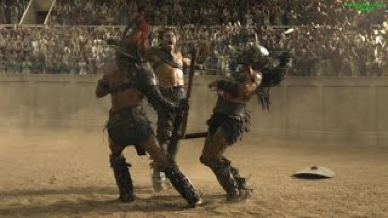 Best fight scenes of Spartacus: Gods of the Arena HD