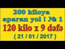 200 kiloya aparan yol ! № 1. Ateks Motivator 120 kilonu sinədən 9 dəfə qaldırır 21/01/2017