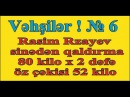 Vəhşilər ! № 6. Rasim Rzayev 80 kilonu sinədən 2 dəfə qaldırır. Öz çəkisi cəmi 52 kilo (03/04/2017)