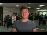 Tom Daley on live at five