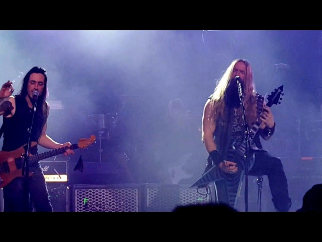Zakk Wylde Nuno Bettencourt Sideways Generation Axe Orpheum Theater Madison, WI 5-01-2016