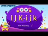Kids vocabulary compilation - Words starting with I, J, K - Word cards - review