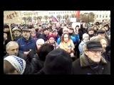 Выступление Бориса Вишневского на Марше в защиту Петербурга